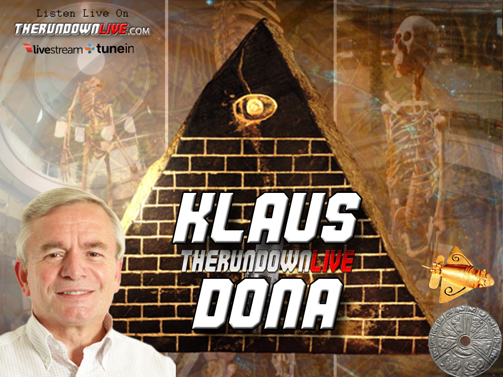 The Rundown Live #154 Klaus Dona (Ancient History,Archeologist,Pyramids)