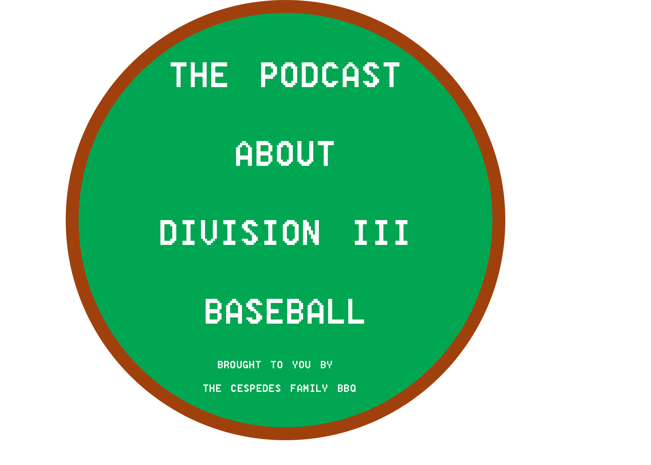 The Podcast About Division III Baseball show art