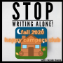 Artwork for Happy Campers Club Reflections on NaNoWriMo and 2020