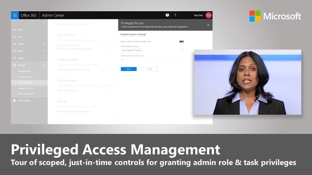 Artwork for Introducing privileged access management in Office 365