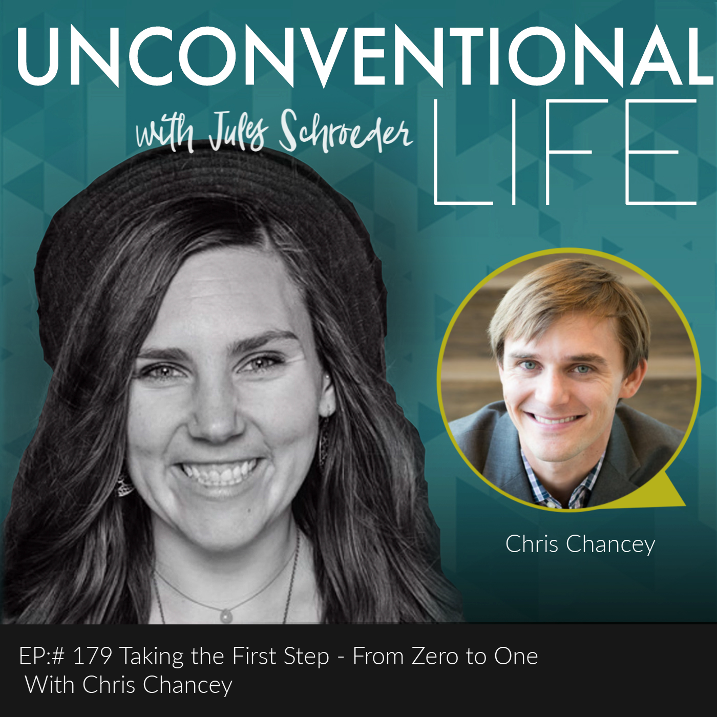 P:# 179 Taking the First Step - From Zero to One  With Chris Chancey show art
