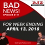 Artwork for Good News / Bad News for Week Ending April 13, 2018