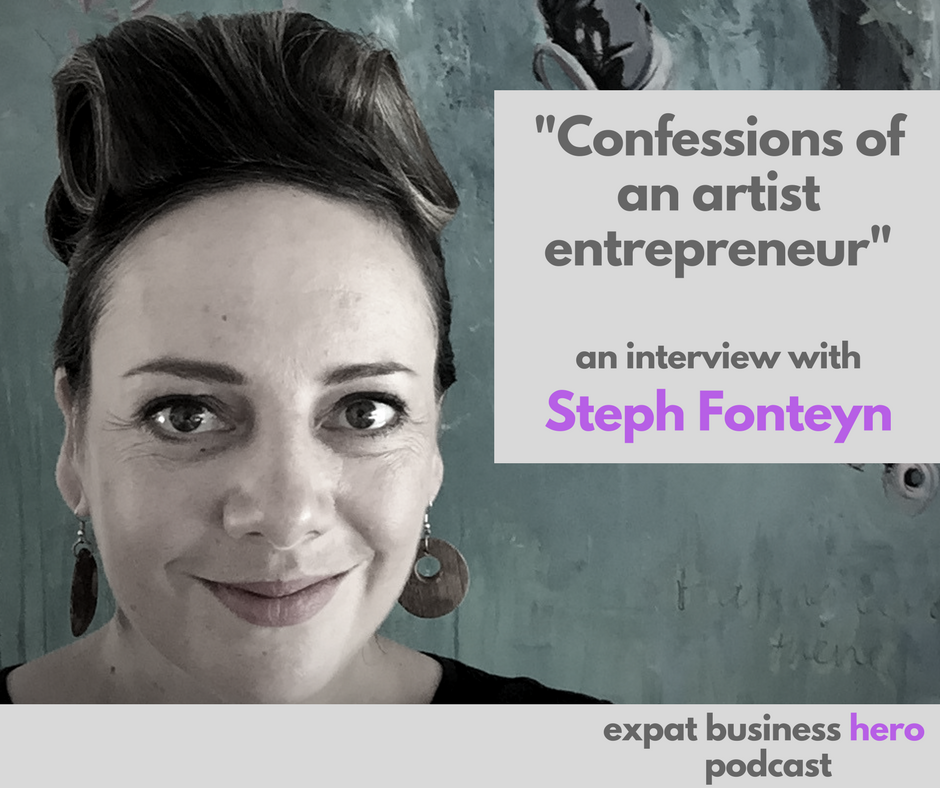 Steph Fonteyn Expat Business Hero podcst