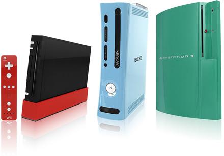 ColorWare cambia los colores de tus Wii, Xbox 360 y PS3