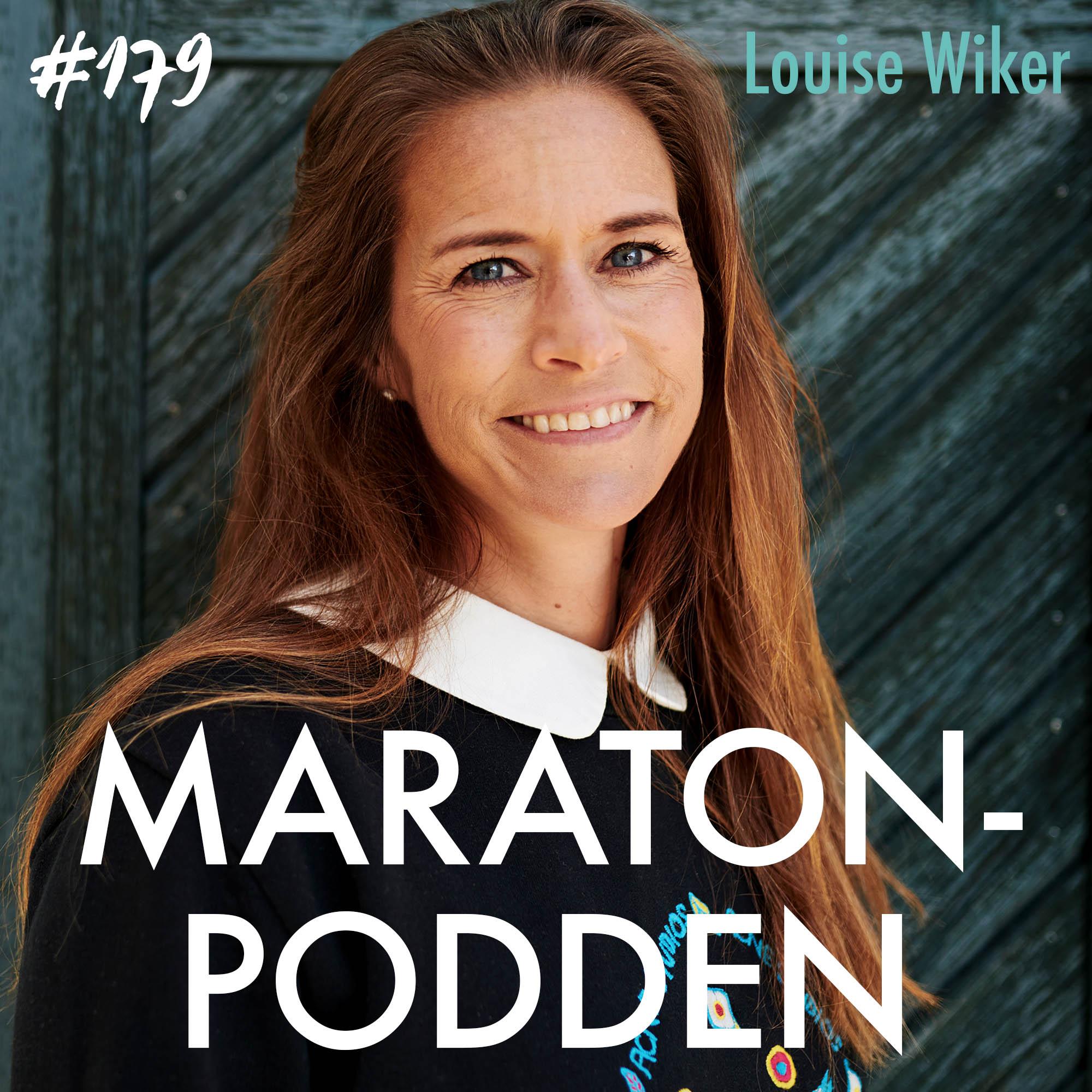 #179: Louise Wiker, maraton, smörkola och skummande cappuccino