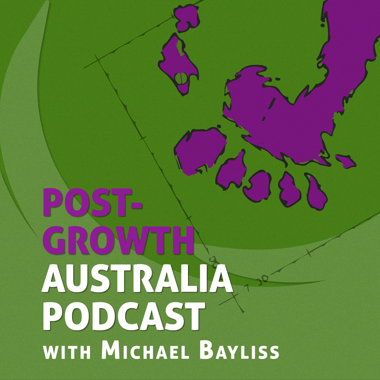 Post-Growth Australia Podcast show art
