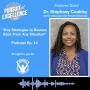 Artwork for Key Strategies to Bounce Back From any Situation with Dr. Stephany Coakley