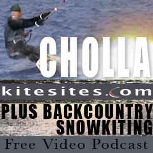 CHOLLA plus BACKCOUNTRY SNOWKITING