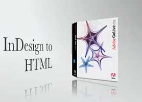 InDesign to HTML via GoLive
