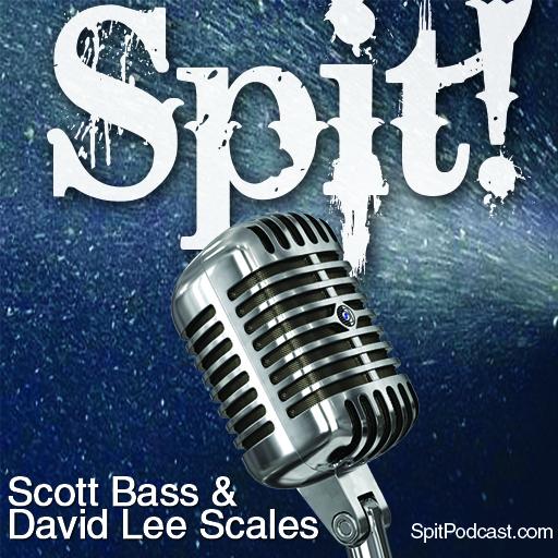 Spit! surf podcast show art