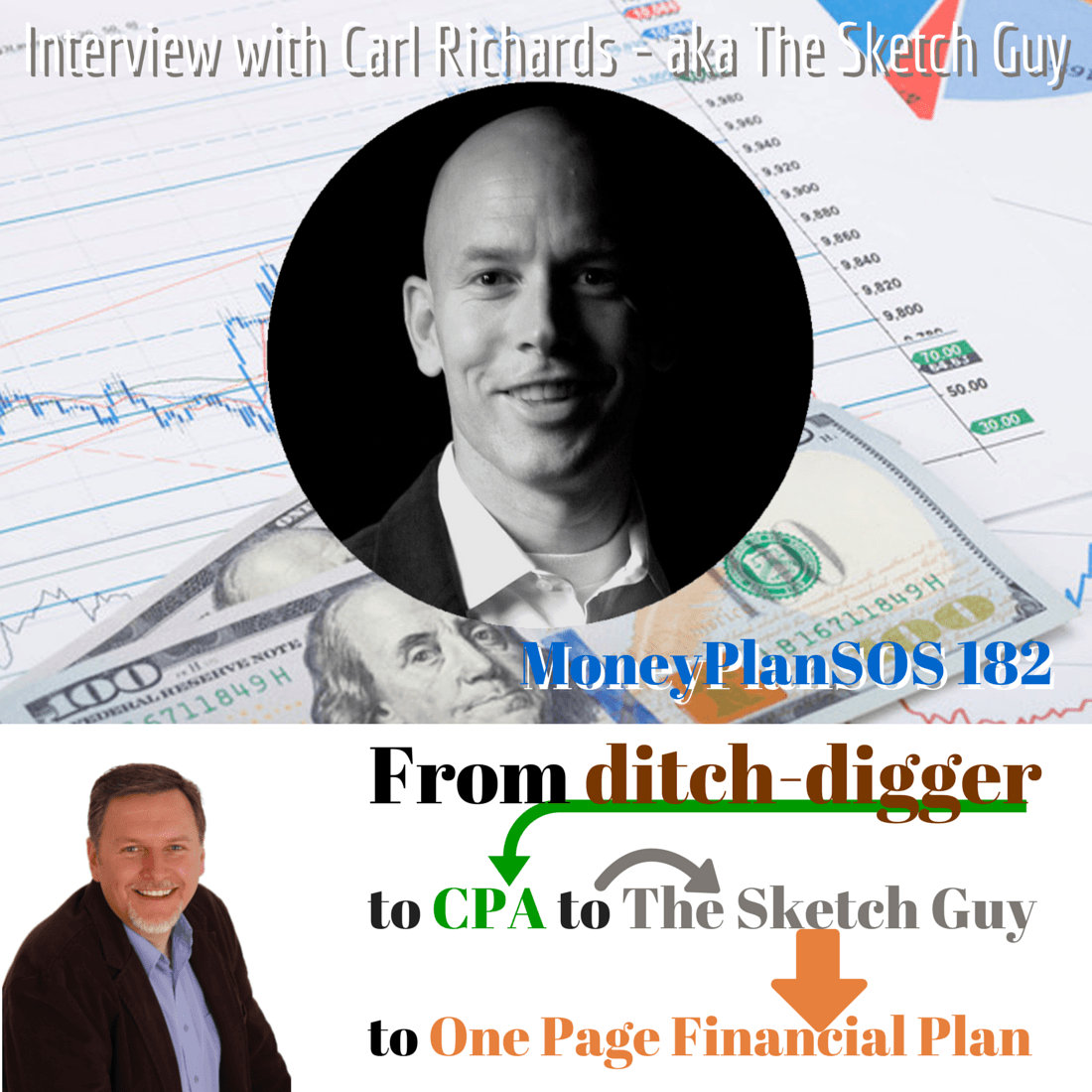 One Page Financial Plans and Cocktail Napkins - Interview with Carl Richards