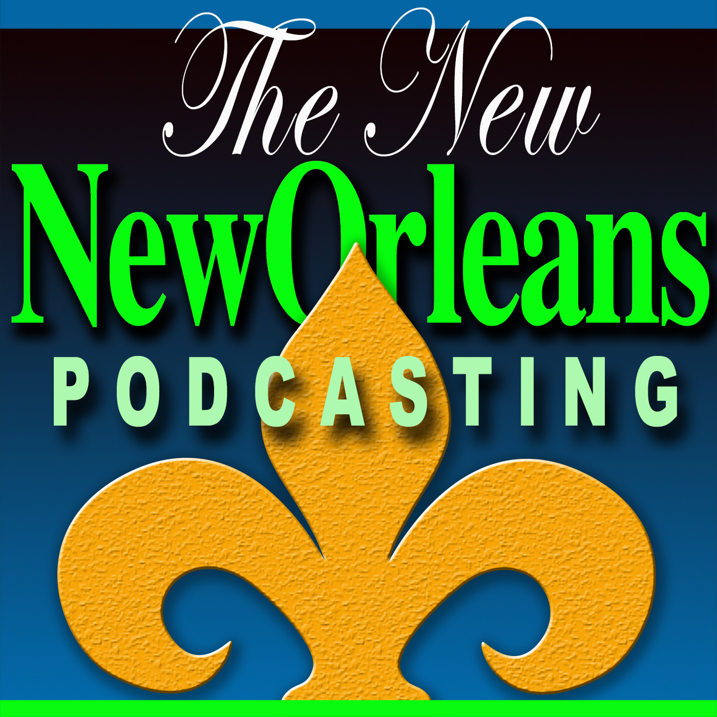 New Orleans Podcasting show art