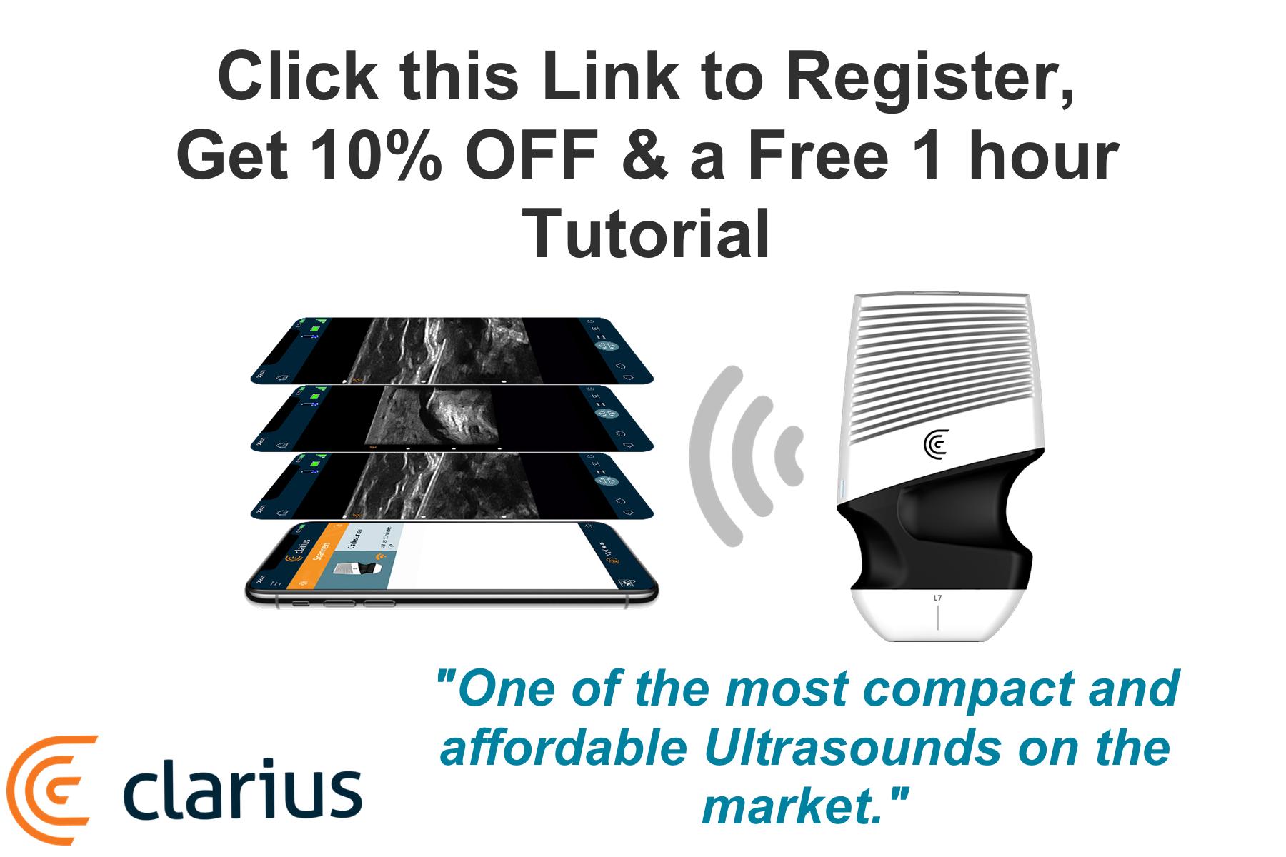 Clarius Ultrasound PainExam Discount