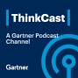 Artwork for Gartner ThinkCast 122: Use Your Data to Tell Your Story