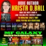 Artwork for AUTHOR KRISTA D. BALL ON SUPERCHARGING INDIE NOVEL SALES (MF GALAXY 057)