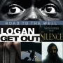 Artwork for Week 54: (Logan (2017), Get Out (2017), Road to the Well (2016), Silence (2016))