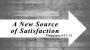 Artwork for The Gospel Propels Us: A New Source of Satisfaction (Pastor Jeromy Larson)