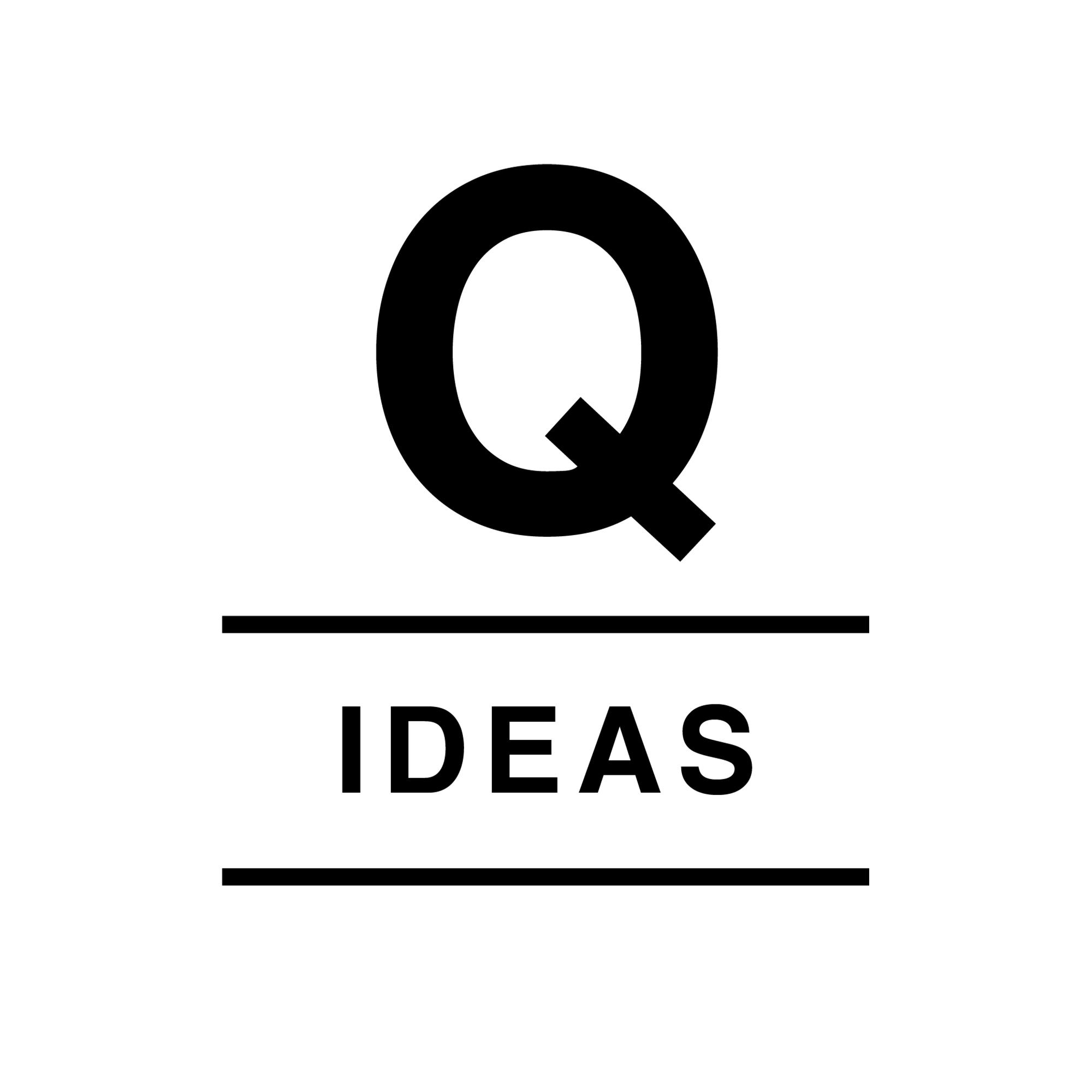 Q Ideas Podcast show art