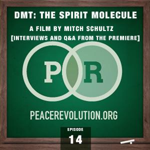 Peace Revolution episode 014: The Premiere of DMT: The Spirit Molecule by Mitch Schultz