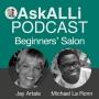 Artwork for Beginners' Self-Publishing Salon: SETTING YOUR 2018 WRITING GOALS with Jay Artale & Michael La Ronn Jan 2018