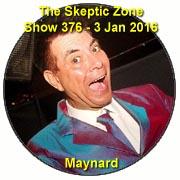 The Skeptic Zone #376 - 3.Jan.2016