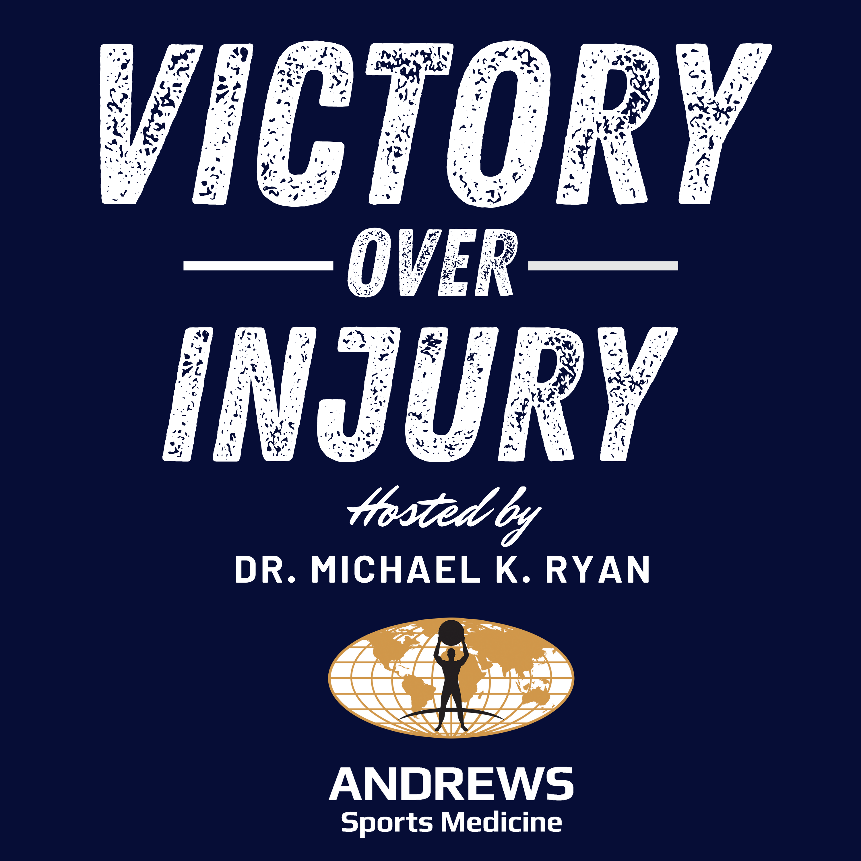 Victory Over Injury Podcast show art