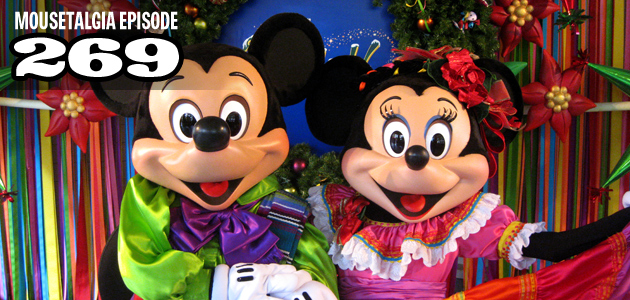 Mousetalgia Episode 269: Disneyland Holidays, remembering Annette