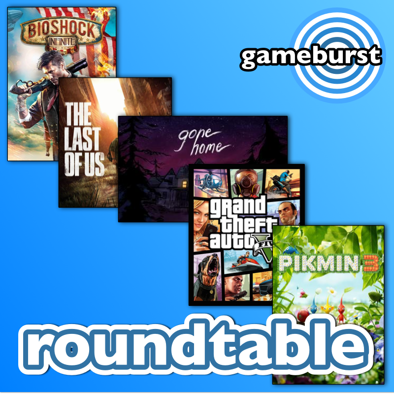 GameBurst Roundtable - Top 5 Games of 2013