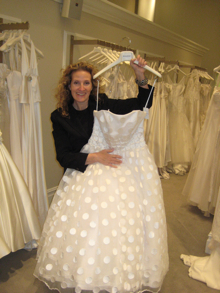 Meet the Masters with Wedding Gown Designer Michelle Roth