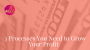 Artwork for Episode 91: 3 Processes You Need to Grow Your Profit