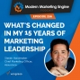 Artwork for What's Changed In My 15 Years Of Marketing Leadership