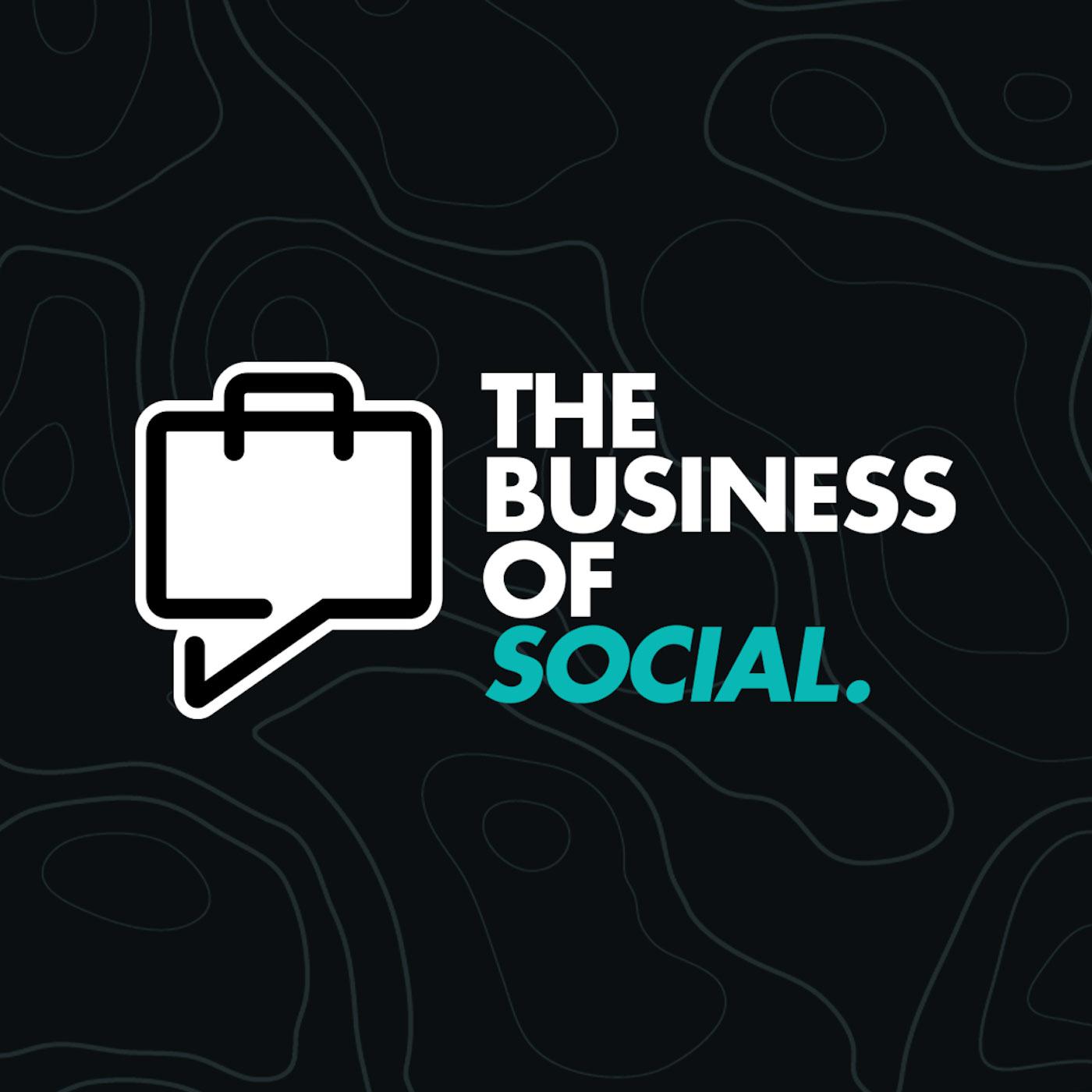 Business Of Social show art