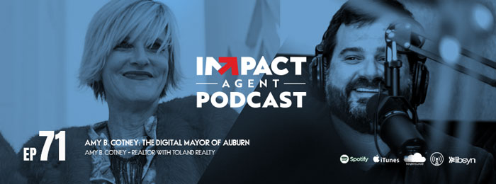 Amy B. Cotney talks with Jason Will on the IMPACT AGENT podcast