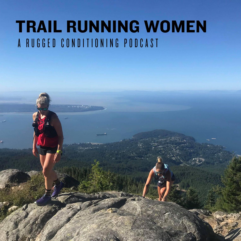 Trail Running Women show art