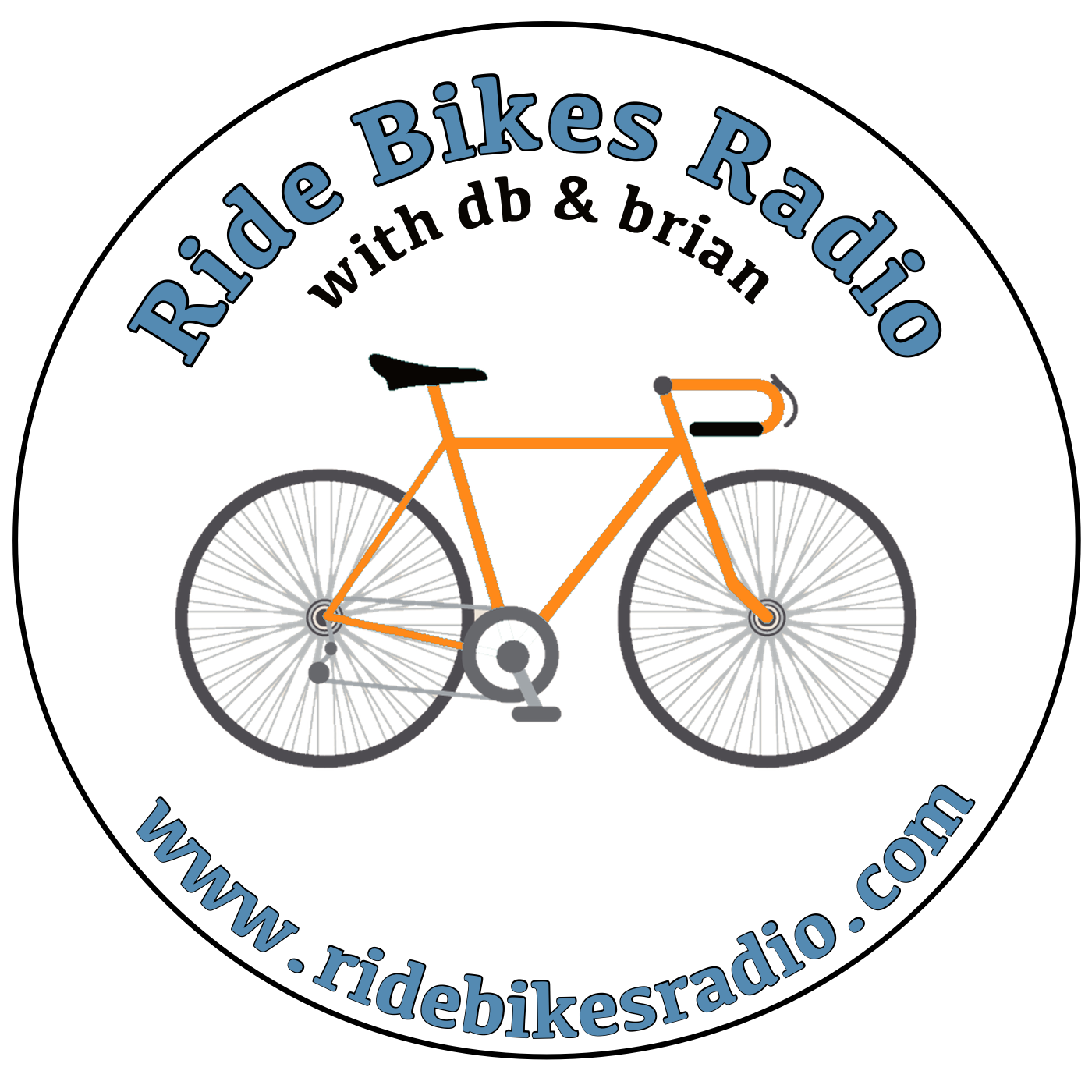 Ride Bikes Radio show art