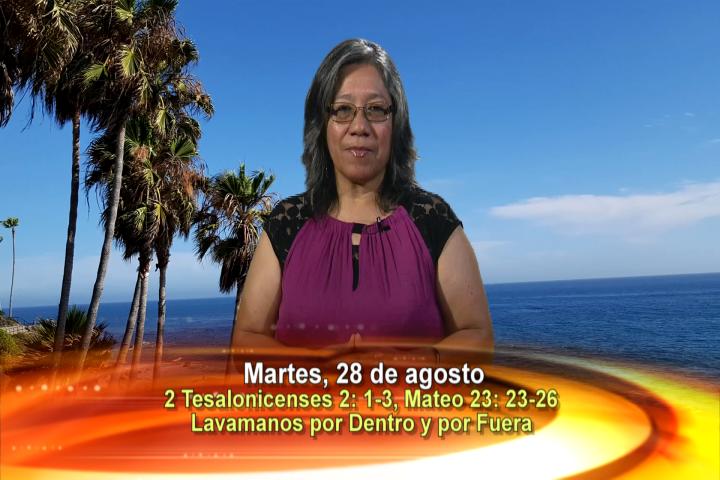 Artwork for Dios te Habla con Lidia Mendoza;  Tema el hoy: LAVEMONOS POR DENTRO Y POR FUERA