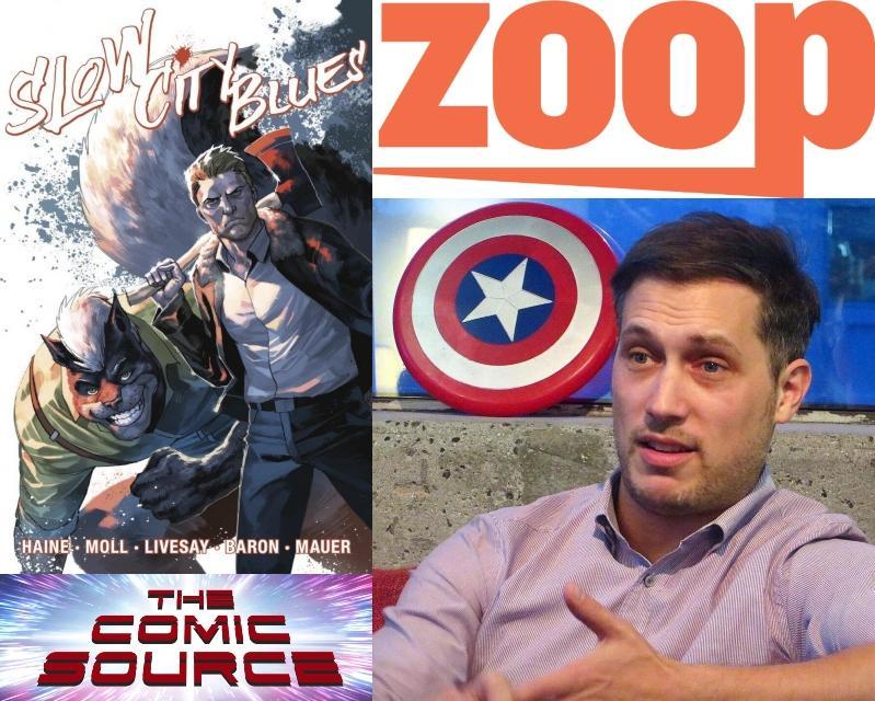 Zoop - The Future of Comic Book Crowdfunding with Jordan Plosky