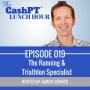 Artwork for EP 019: The Running & Triathlon Specialist