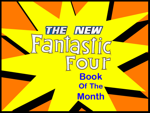 Cammy's Comic Corner - Book Of The Month - The New Fantastic Four