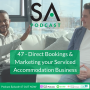 Artwork for #47 - Direct Bookings & Marketing your Serviced Accommodation Business