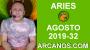 Artwork for HOROSCOPO ARIES - Semana 2019-32 Del 4 al 10 de agosto de 2019 - ARCANOS.COM