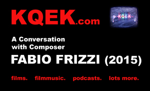 KQEK.com --- Interview with film composer Fabio Frizzi (2015)