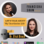 """Artwork for Let's talk about the issues brought up in """"My Unorthodox Life"""" with Dr. Efrat Bruck"""