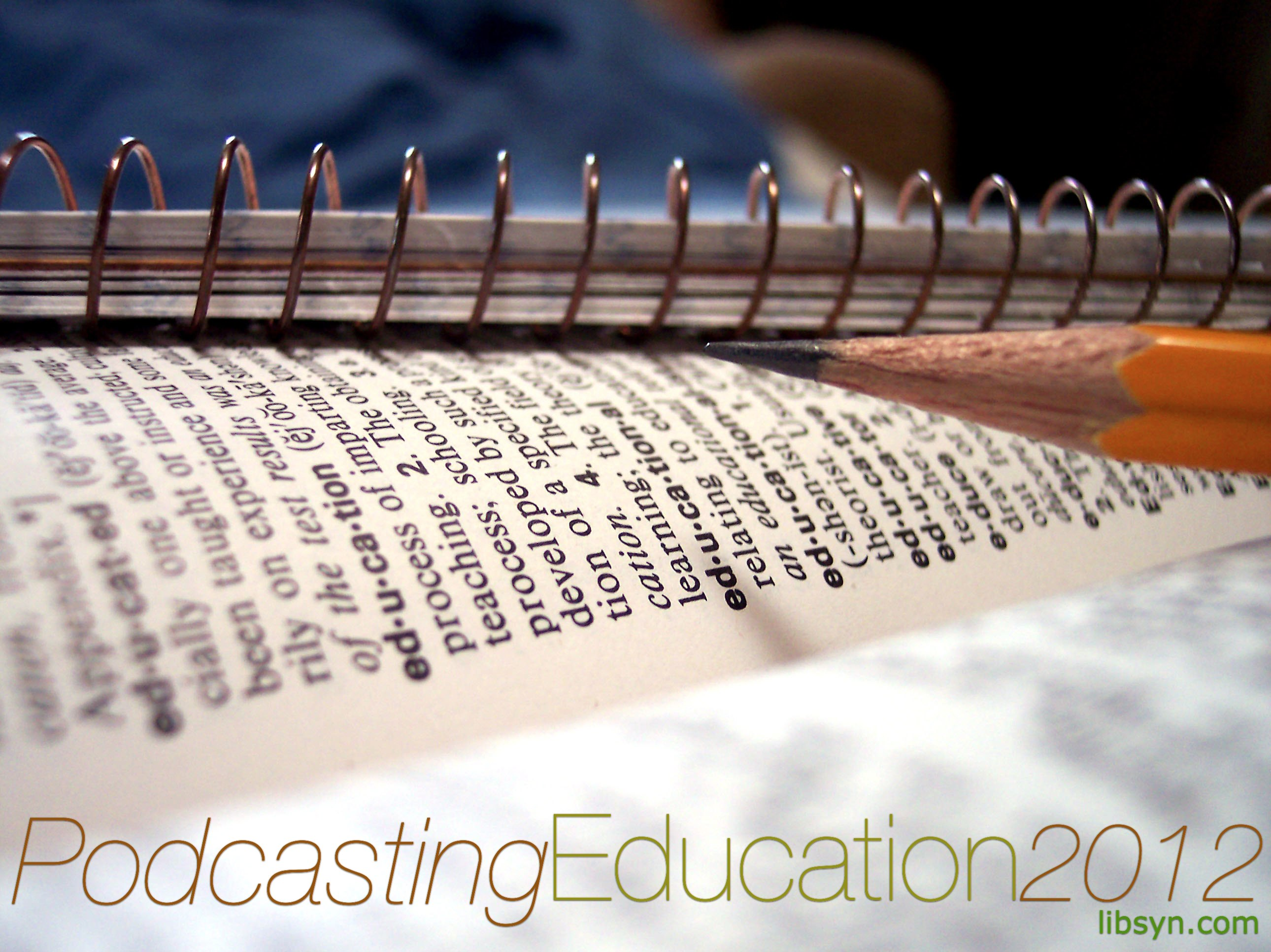 podcasters advice on podcasting for 2012
