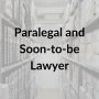 Artwork for Law Lives Project, Episode 11: Paralegal and Soon-to-be Lawyer