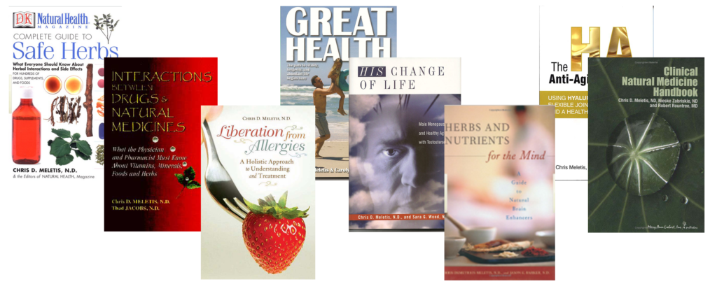 Dr. Chris Meletis Books