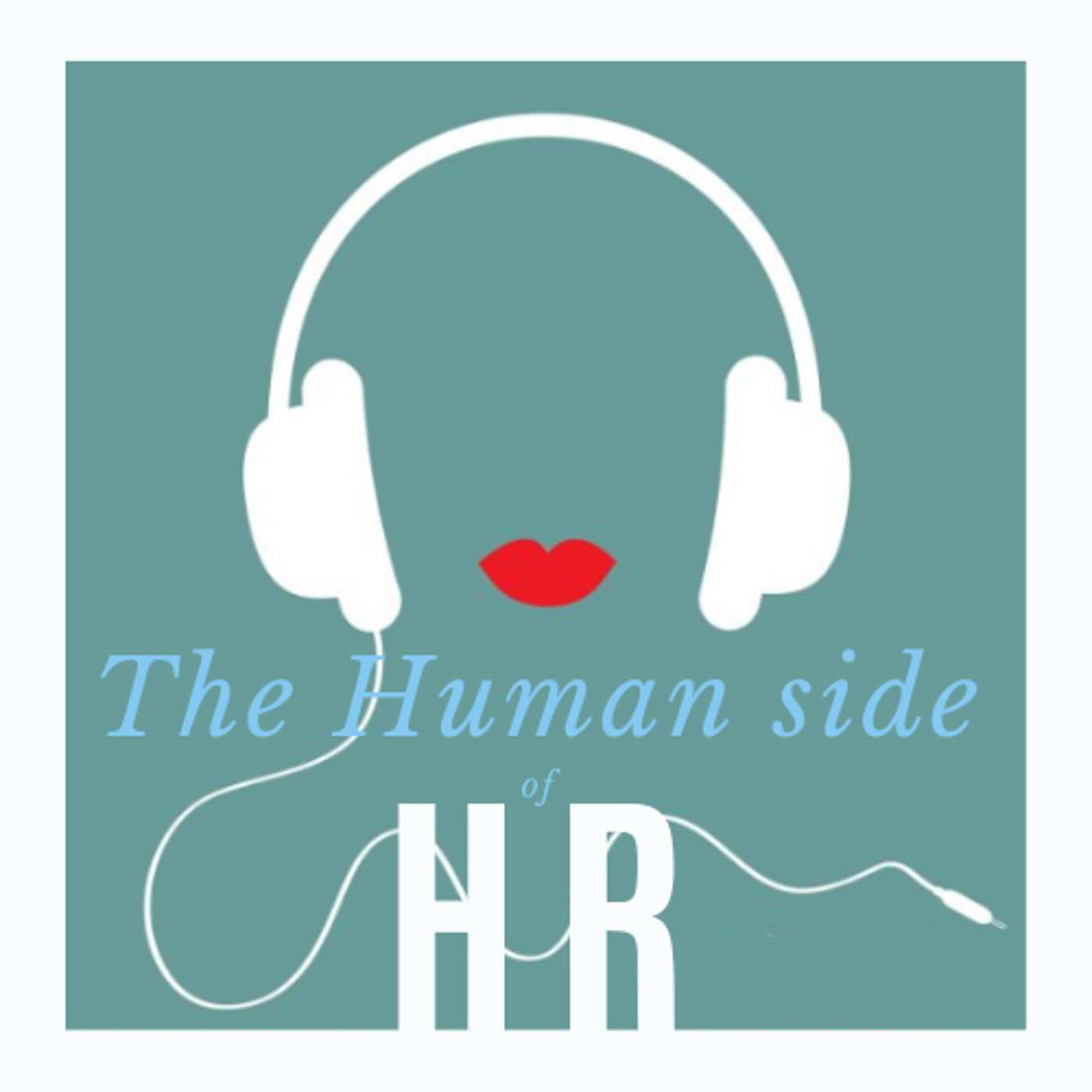 The Human Side of HR podcast show art