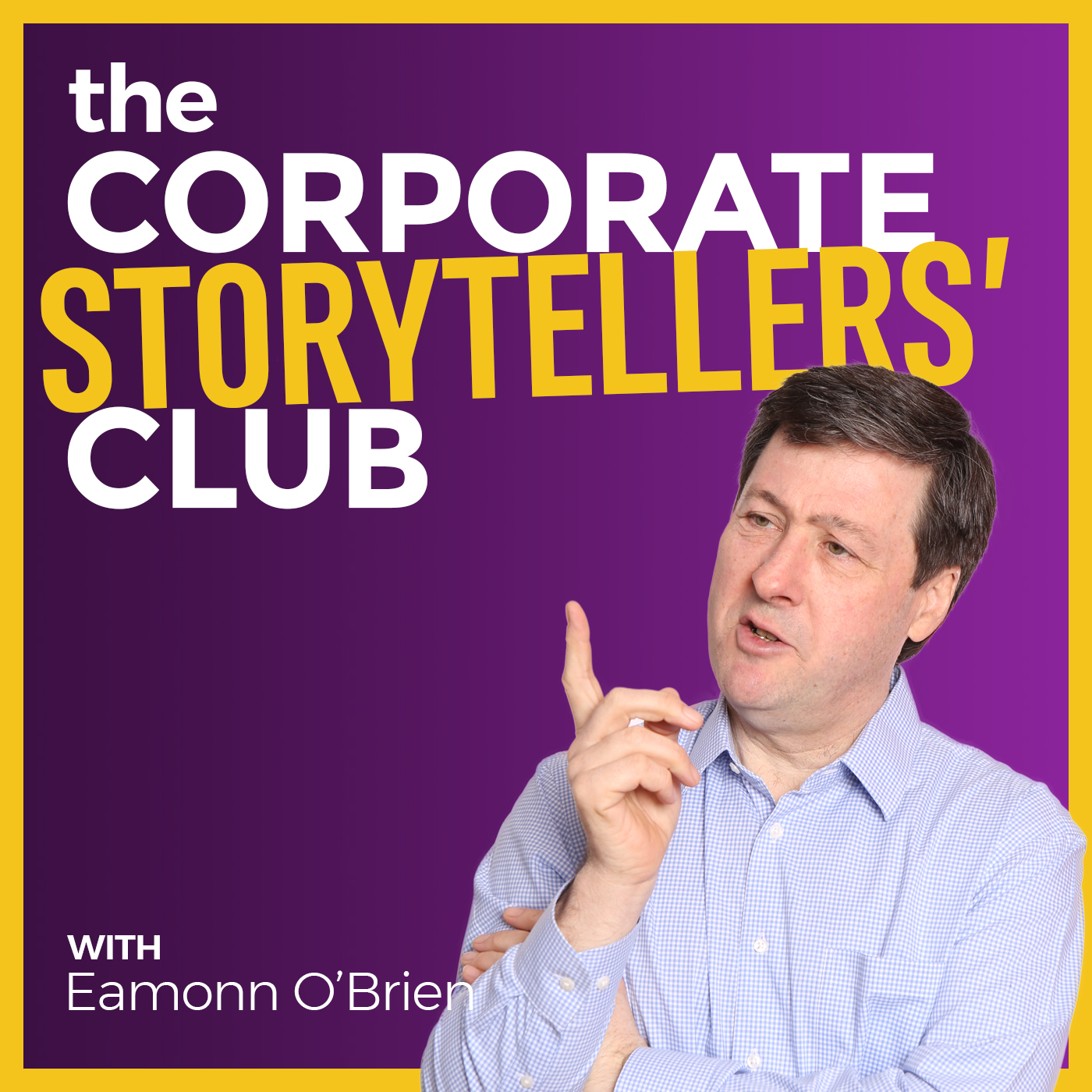 The Corporate Storytellers' Club Podcast show art
