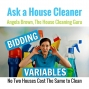 Artwork for Bidding Variables for Cleaning Estimates