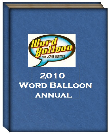 Best Of Comic Books 2010 The Word Balloon Annual